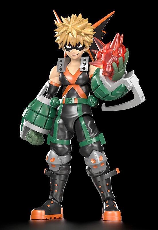 MODEROID『緑谷出久』僕のヒーローアカデミア プラモデル-009