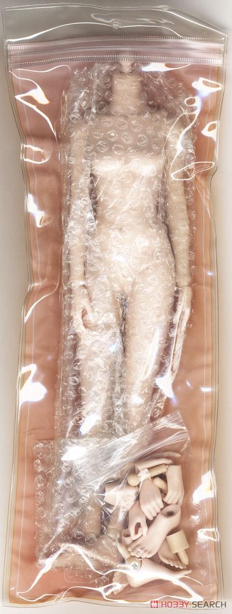 【再販】1/6 シン シリーズ スーパー『フレキシブル女性素体 シームレスジョイント【ペール】【スモール】バスト』ドール素体-001