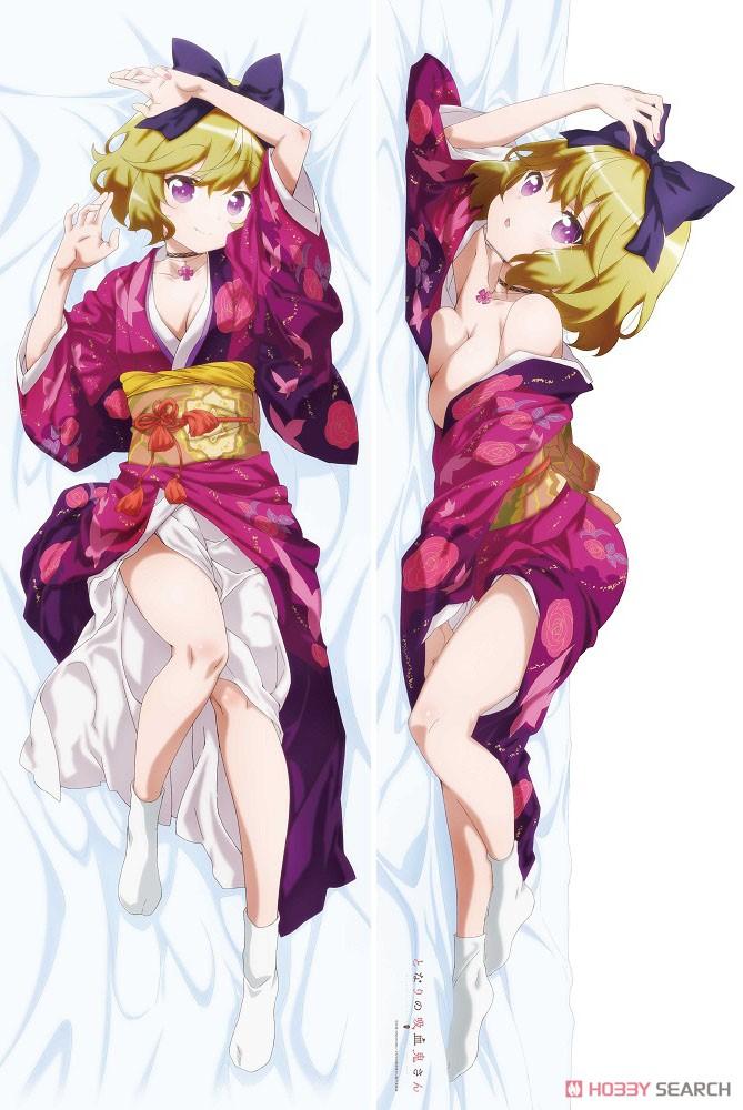 【スムース版】となりの吸血鬼さん『灯(着物)』描き下ろしスムース抱き枕カバー-003
