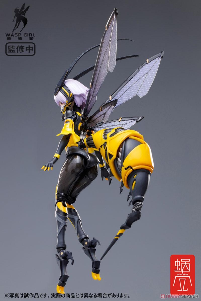 モグモ イラスト『BEE-03W WASP GIRL ブンちゃん』ワスプ ガール 1/12 可動フィギュア-004