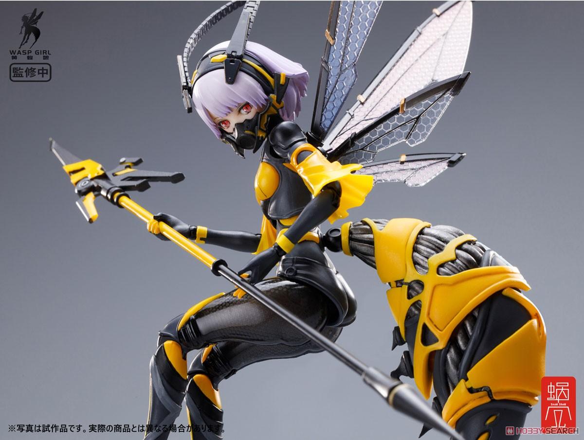 モグモ イラスト『BEE-03W WASP GIRL ブンちゃん』ワスプ ガール 1/12 可動フィギュア-006
