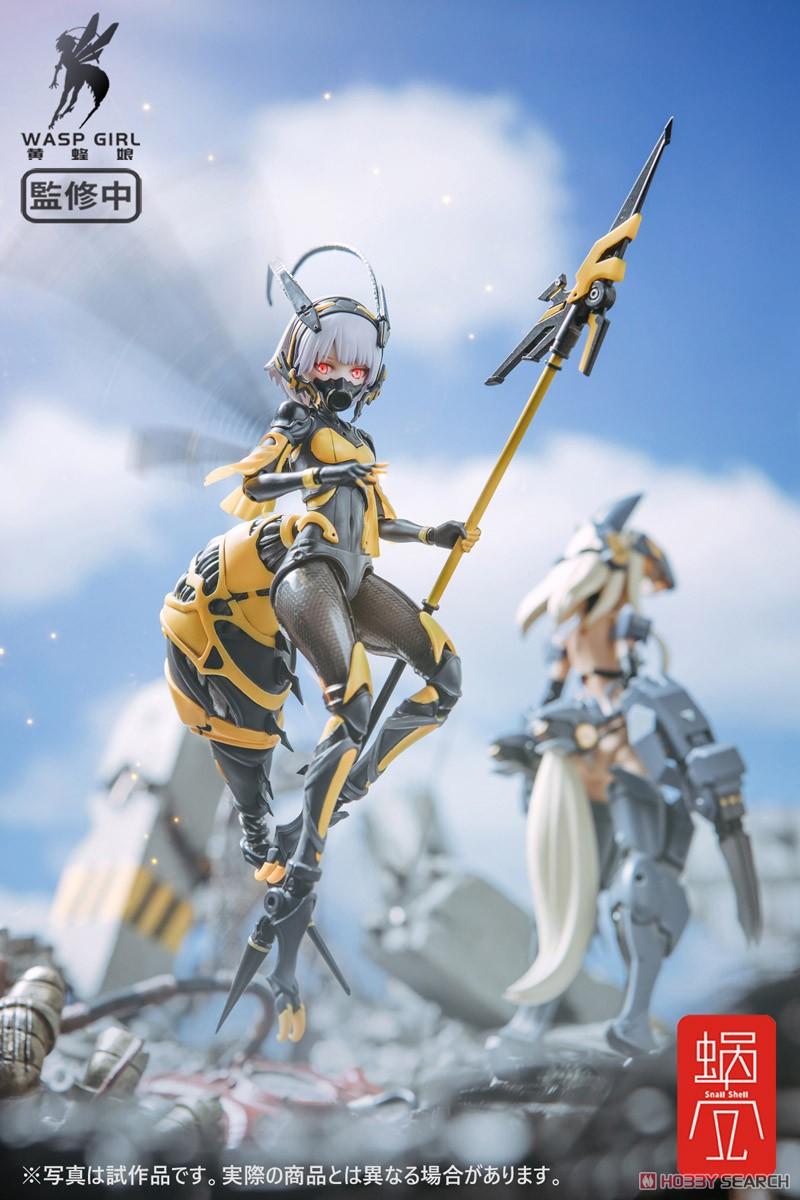モグモ イラスト『BEE-03W WASP GIRL ブンちゃん』ワスプ ガール 1/12 可動フィギュア-015