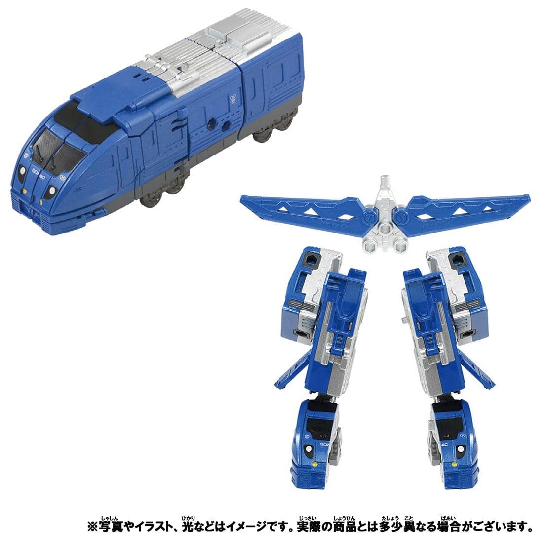 新幹線変形ロボ シンカリオンZ『シンカリオンZ 800ソニックセット』可変合体プラレール-009