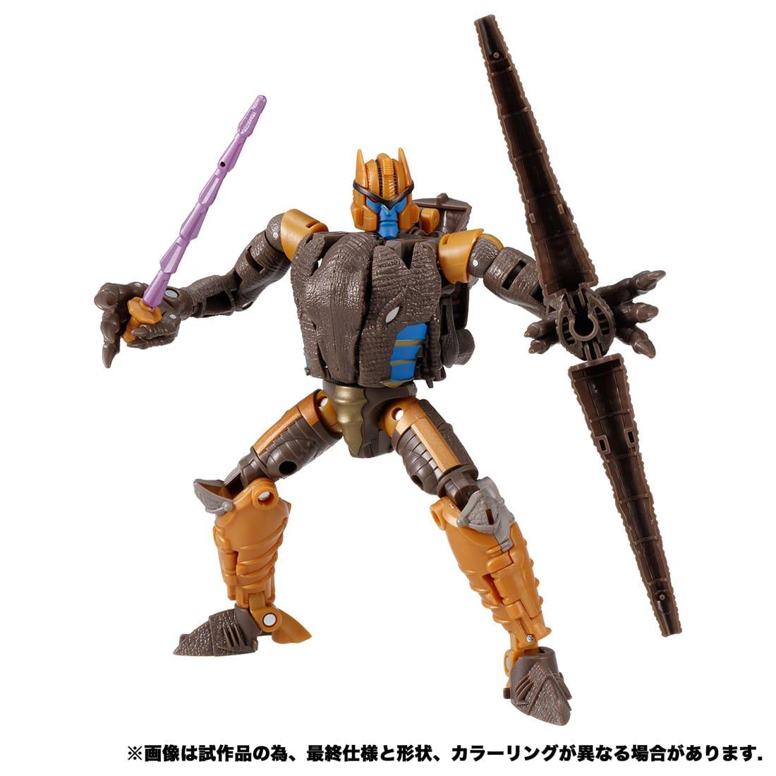 トランスフォーマー キングダム『KD-08 ダイノボット』可変可動フィギュア-003