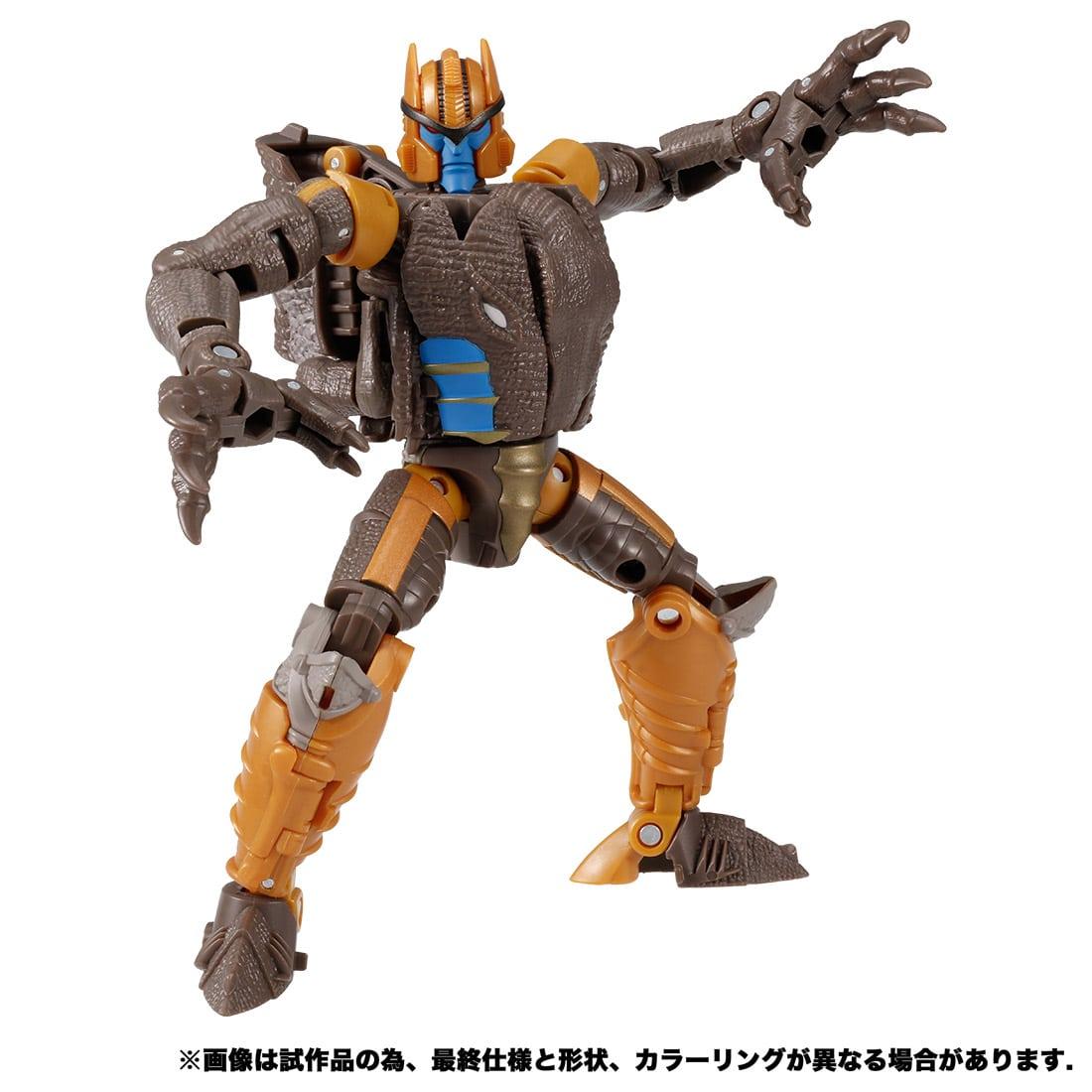 トランスフォーマー キングダム『KD-08 ダイノボット』可変可動フィギュア-005