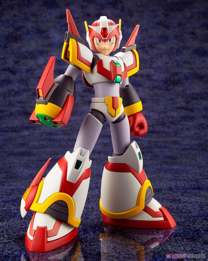 ロックマンX『エックス ライジングファイアVer.』1/12 プラモデル-002