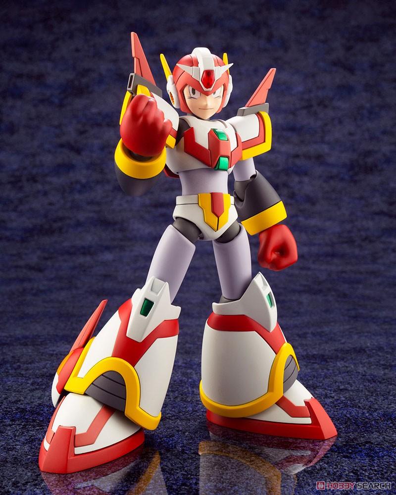 ロックマンX『エックス ライジングファイアVer.』1/12 プラモデル-005