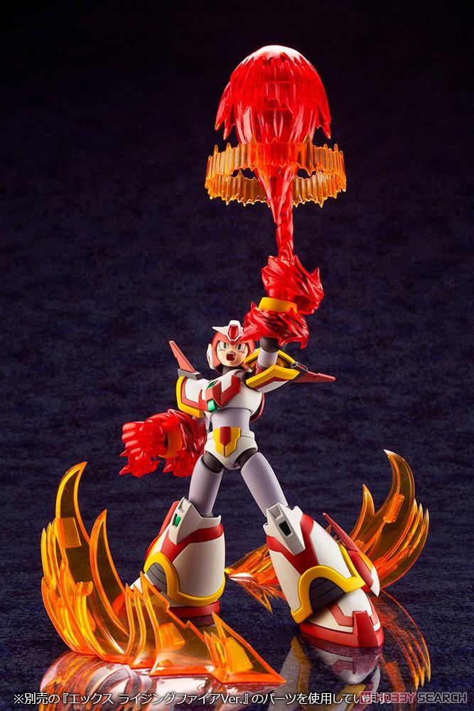 ロックマンX『エックス ライジングファイアVer.』1/12 プラモデル-011