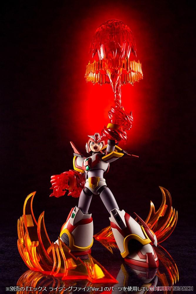 ロックマンX『エックス ライジングファイアVer.』1/12 プラモデル-012