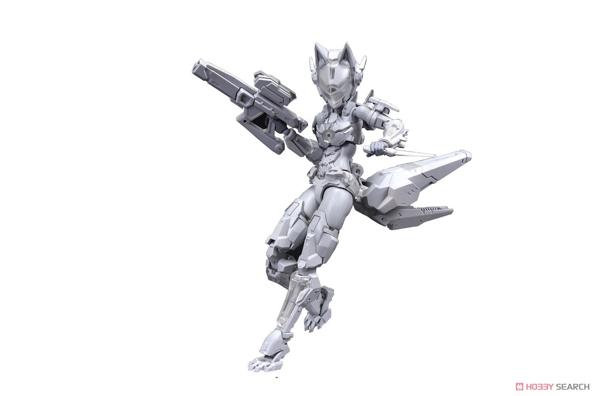 FANTASY GIRLS『F.O.X Long Range Striker Unit』1/12 プラモデル-004