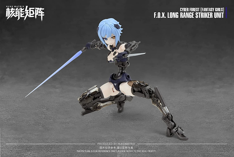 FANTASY GIRLS『F.O.X Long Range Striker Unit』1/12 プラモデル-016