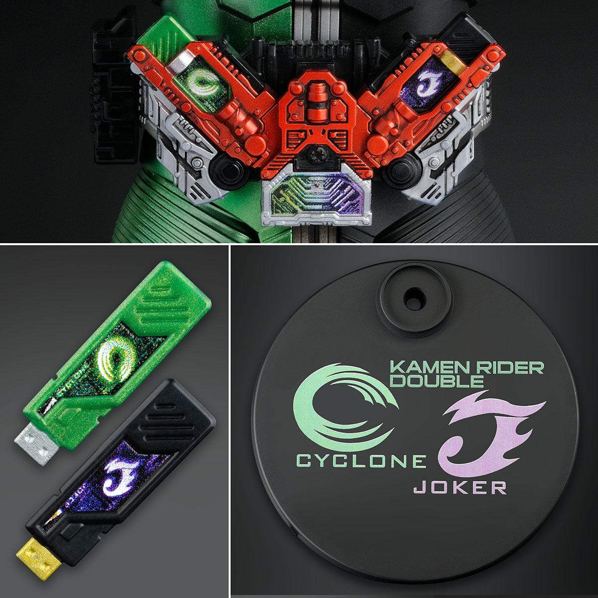 【限定販売】MG FIGURE-RISE ARTISAN『仮面ライダーW サイクロンジョーカー』プラモデル-008