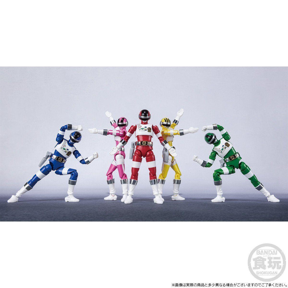 【限定販売】【食玩】SHODO SUPER『超電子バイオマン』可動フィギュア-002