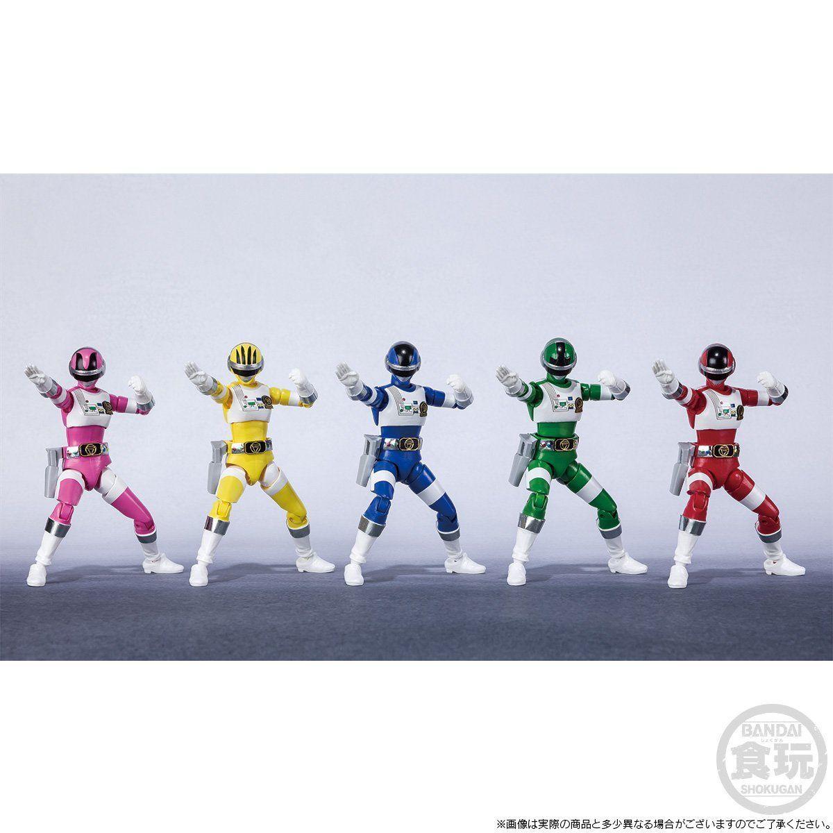 【限定販売】【食玩】SHODO SUPER『超電子バイオマン』可動フィギュア-003