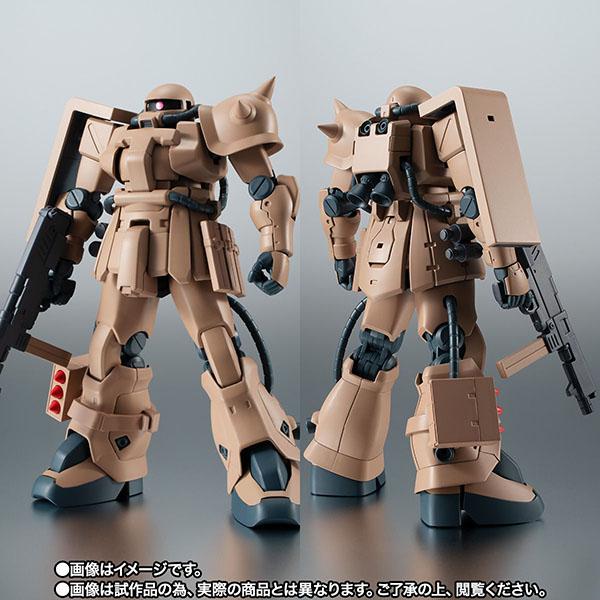 【限定販売】ROBOT魂〈SIDE MS〉『MS-06F-2 ザクII F2型 キンバライド基地仕様 ver. A.N.I.M.E.』ガンダム0083 可動フィギュア