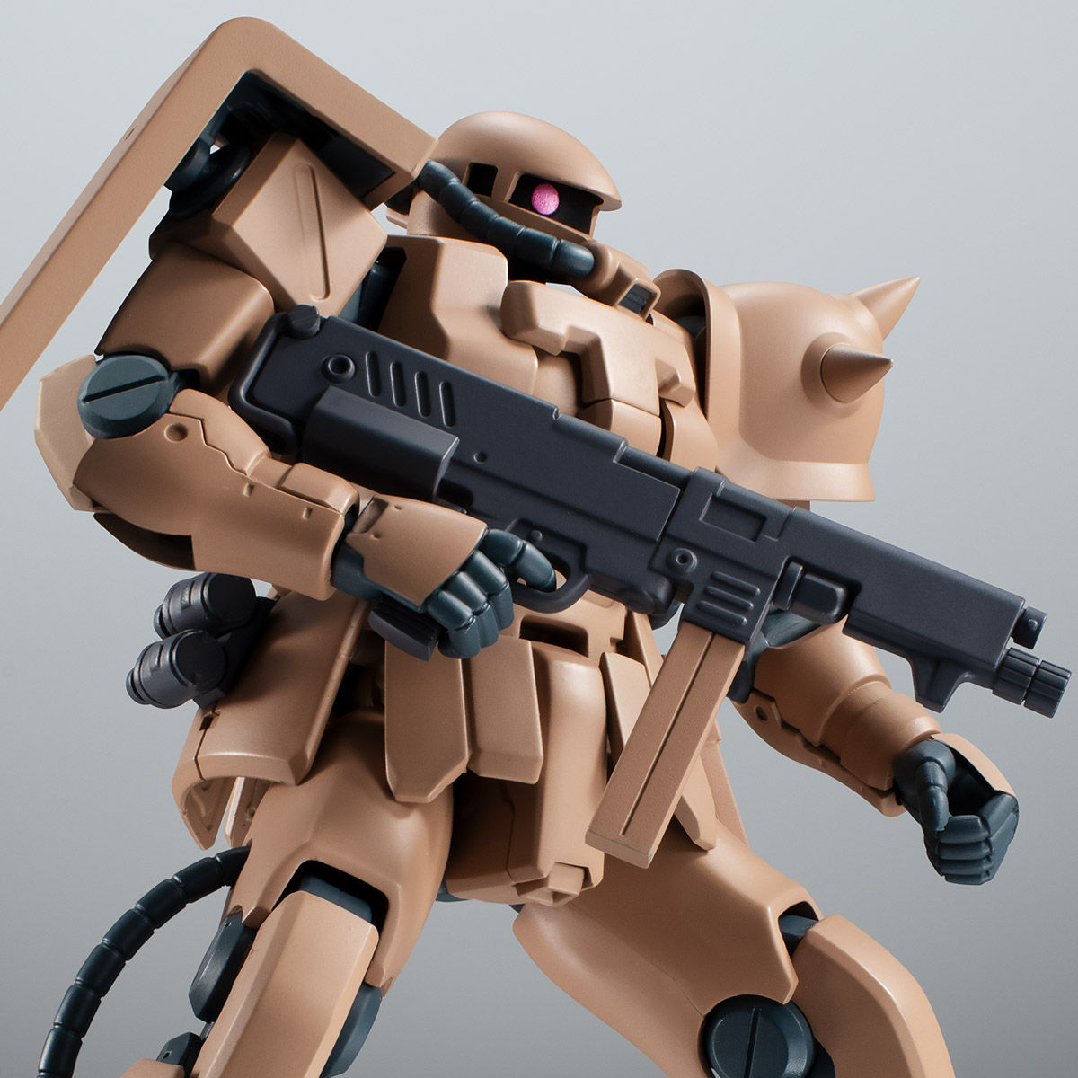 【限定販売】ROBOT魂〈SIDE MS〉『MS-06F-2 ザクII F2型 キンバライド基地仕様 ver. A.N.I.M.E.』ガンダム0083 可動フィギュア-001