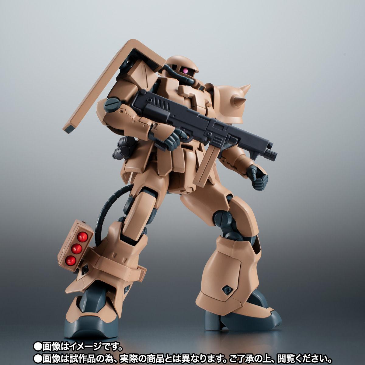 【限定販売】ROBOT魂〈SIDE MS〉『MS-06F-2 ザクII F2型 キンバライド基地仕様 ver. A.N.I.M.E.』ガンダム0083 可動フィギュア-002