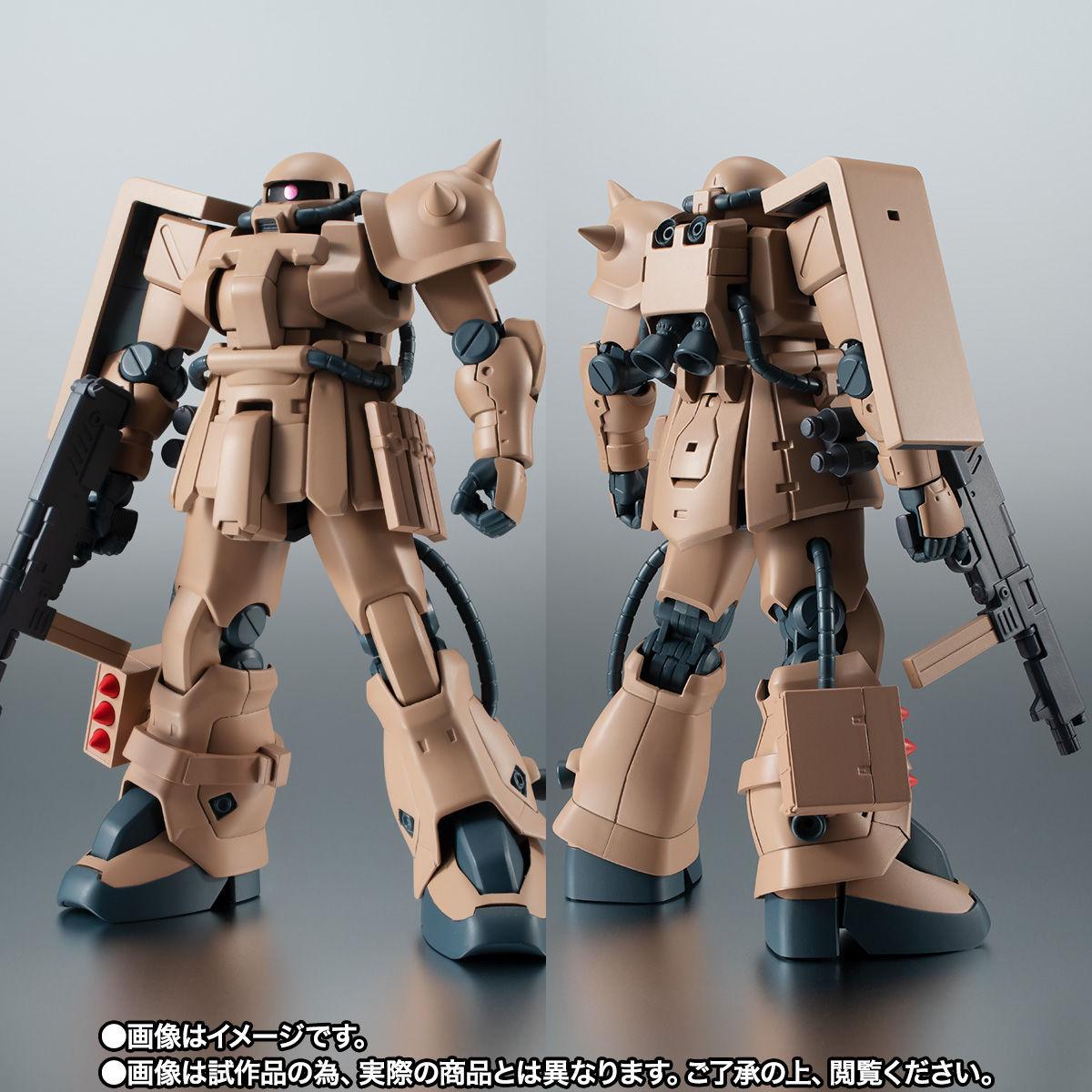 【限定販売】ROBOT魂〈SIDE MS〉『MS-06F-2 ザクII F2型 キンバライド基地仕様 ver. A.N.I.M.E.』ガンダム0083 可動フィギュア-003