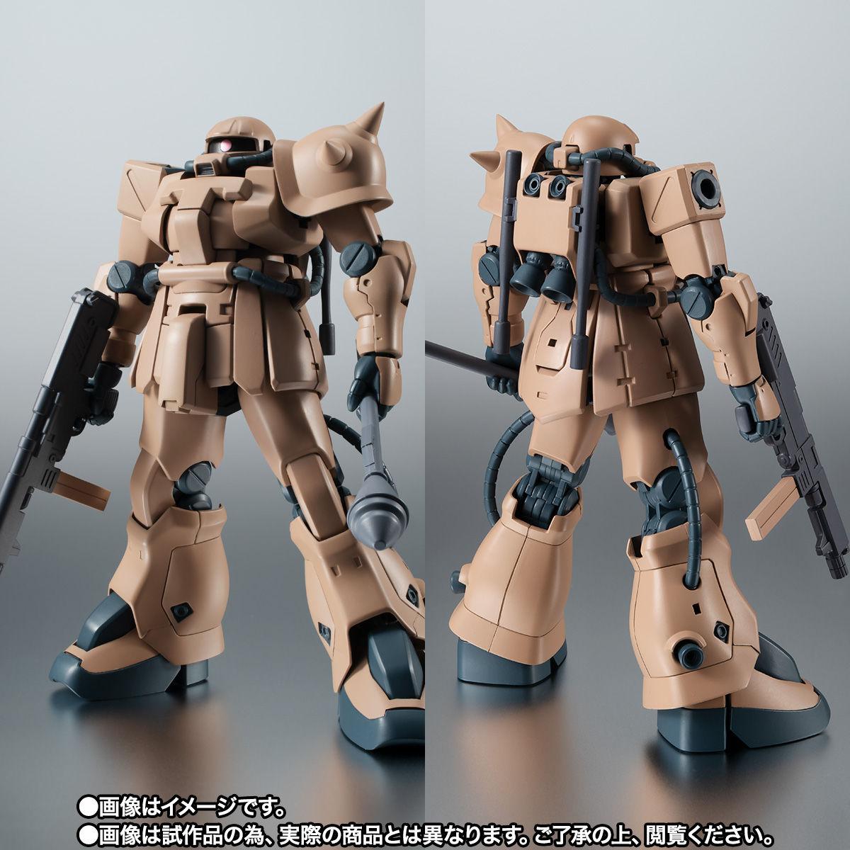 【限定販売】ROBOT魂〈SIDE MS〉『MS-06F-2 ザクII F2型 キンバライド基地仕様 ver. A.N.I.M.E.』ガンダム0083 可動フィギュア-004