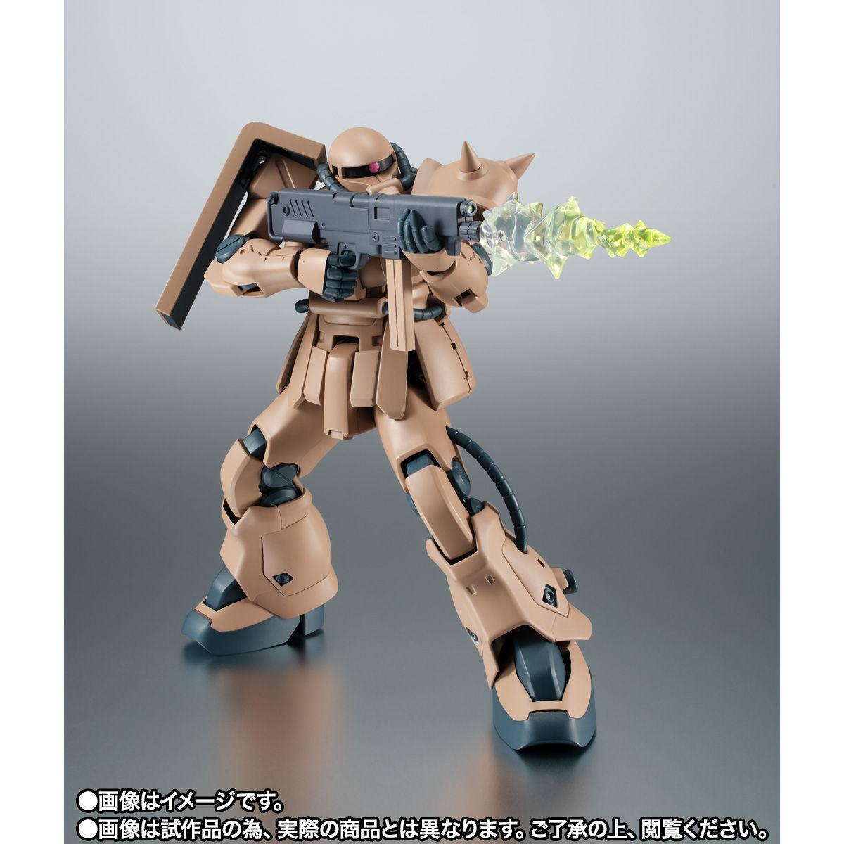 【限定販売】ROBOT魂〈SIDE MS〉『MS-06F-2 ザクII F2型 キンバライド基地仕様 ver. A.N.I.M.E.』ガンダム0083 可動フィギュア-005