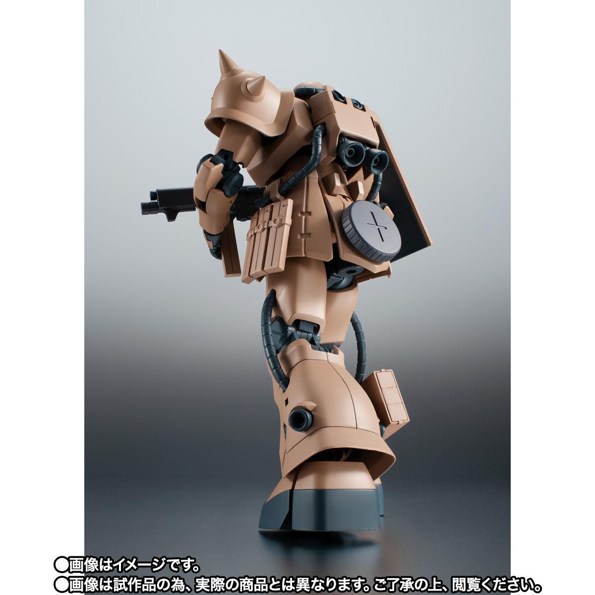 【限定販売】ROBOT魂〈SIDE MS〉『MS-06F-2 ザクII F2型 キンバライド基地仕様 ver. A.N.I.M.E.』ガンダム0083 可動フィギュア-006