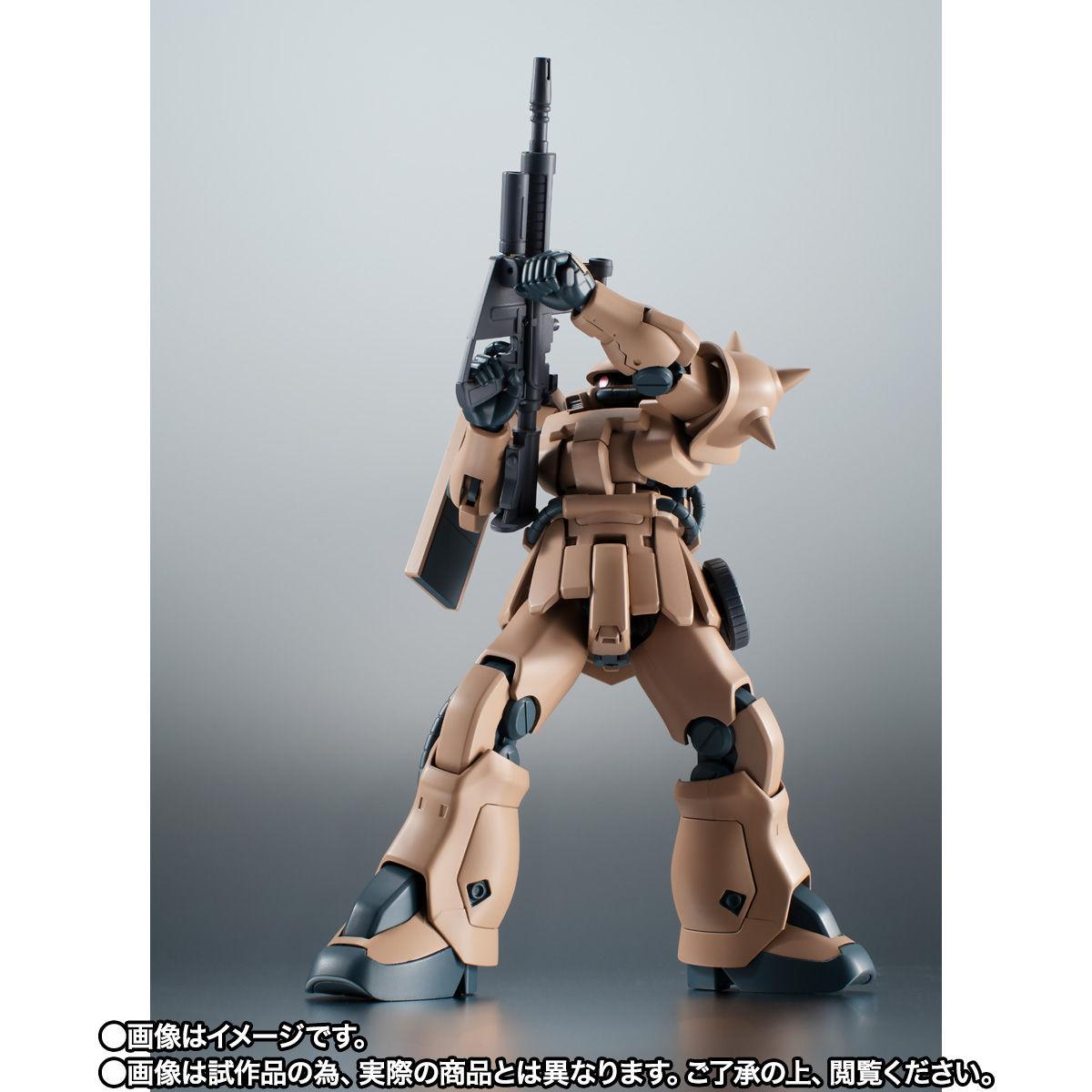 【限定販売】ROBOT魂〈SIDE MS〉『MS-06F-2 ザクII F2型 キンバライド基地仕様 ver. A.N.I.M.E.』ガンダム0083 可動フィギュア-008