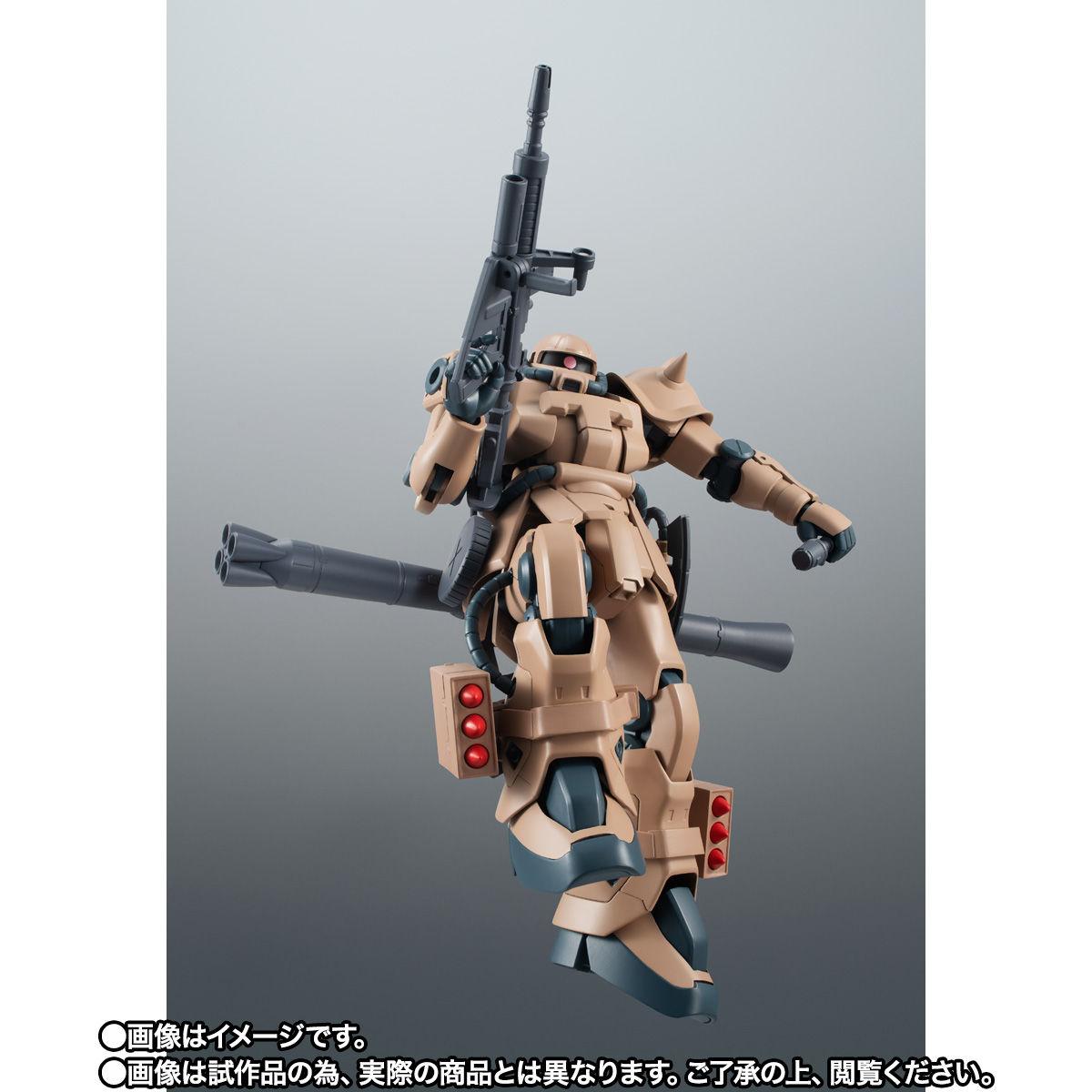【限定販売】ROBOT魂〈SIDE MS〉『MS-06F-2 ザクII F2型 キンバライド基地仕様 ver. A.N.I.M.E.』ガンダム0083 可動フィギュア-009