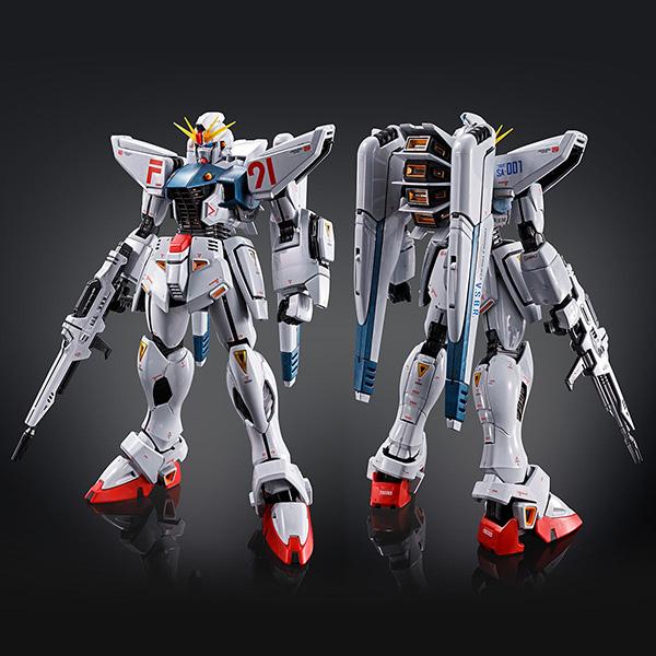 【限定販売】MG 1/100『ガンダムF91 Ver.2.0[チタニウムフィニッシュ]』プラモデル