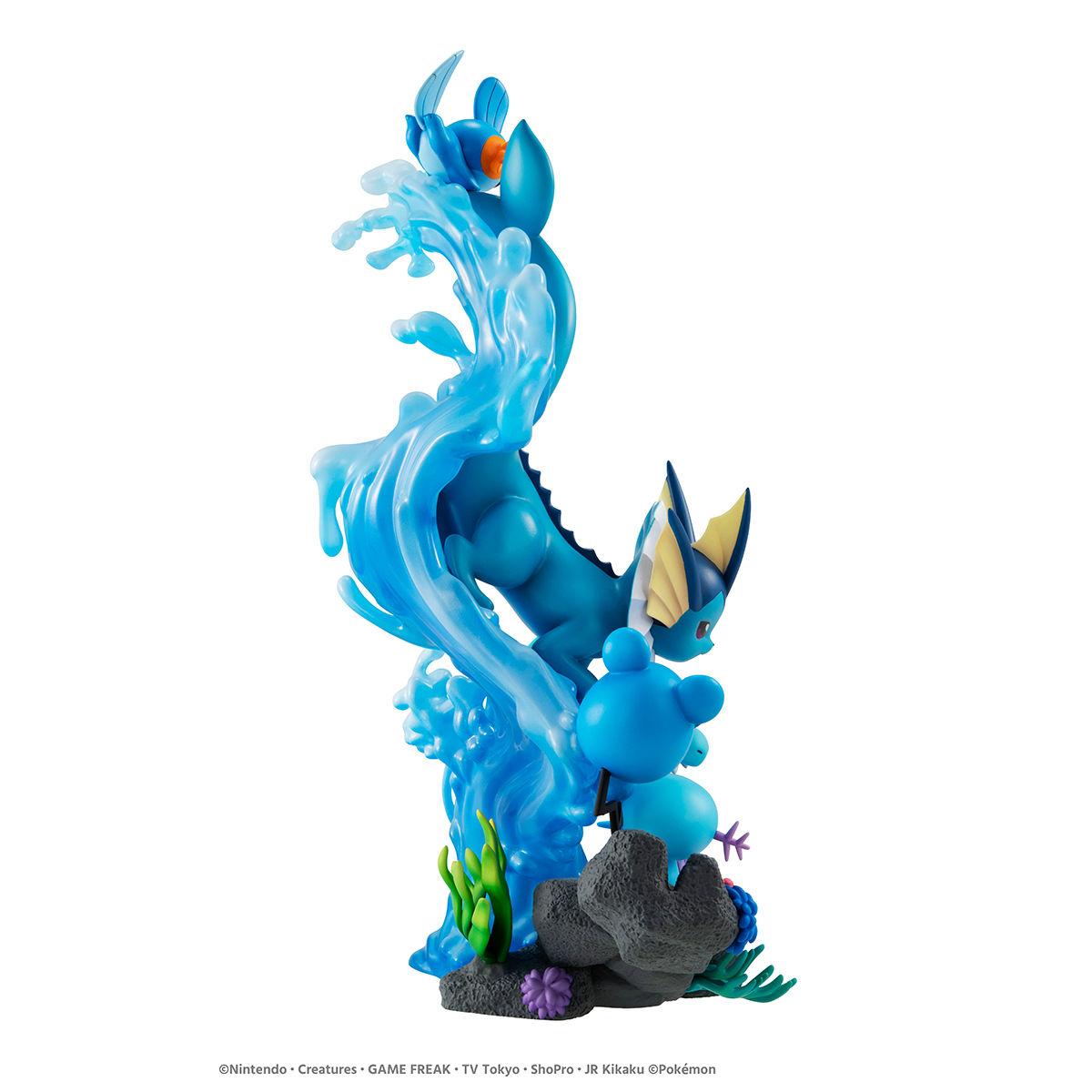 G.E.M.EXシリーズ『みずタイプ DIVE TO BLUE』ポケットモンスター 完成品フィギュア-003