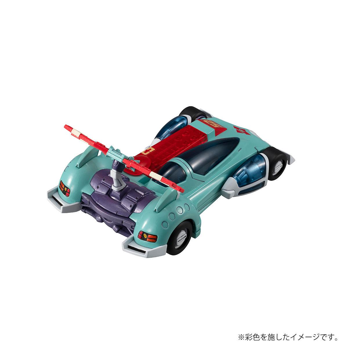 ヴァリアブルアクションキット『アスラーダG.S.X』新世紀GPXサイバーフォーミュラ 1/43 プラモデル-009