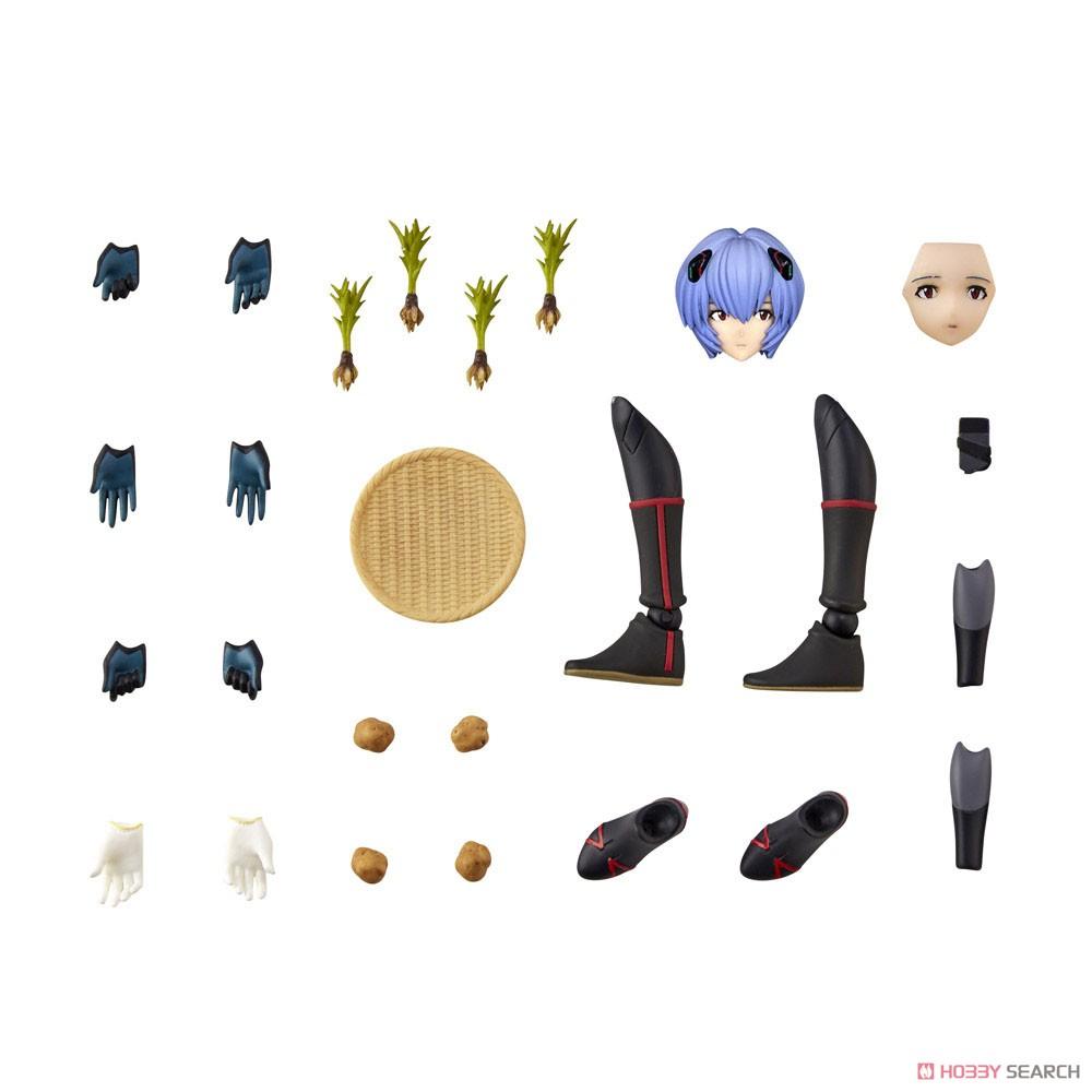 EVANGELION EVOLUTION EV-022『アヤナミレイ(仮称)第3村Ver.』シン・エヴァンゲリオン劇場版 可動フィギュア-015