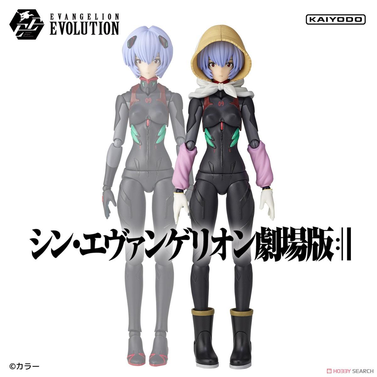 EVANGELION EVOLUTION EV-022『アヤナミレイ(仮称)第3村Ver.』シン・エヴァンゲリオン劇場版 可動フィギュア-016