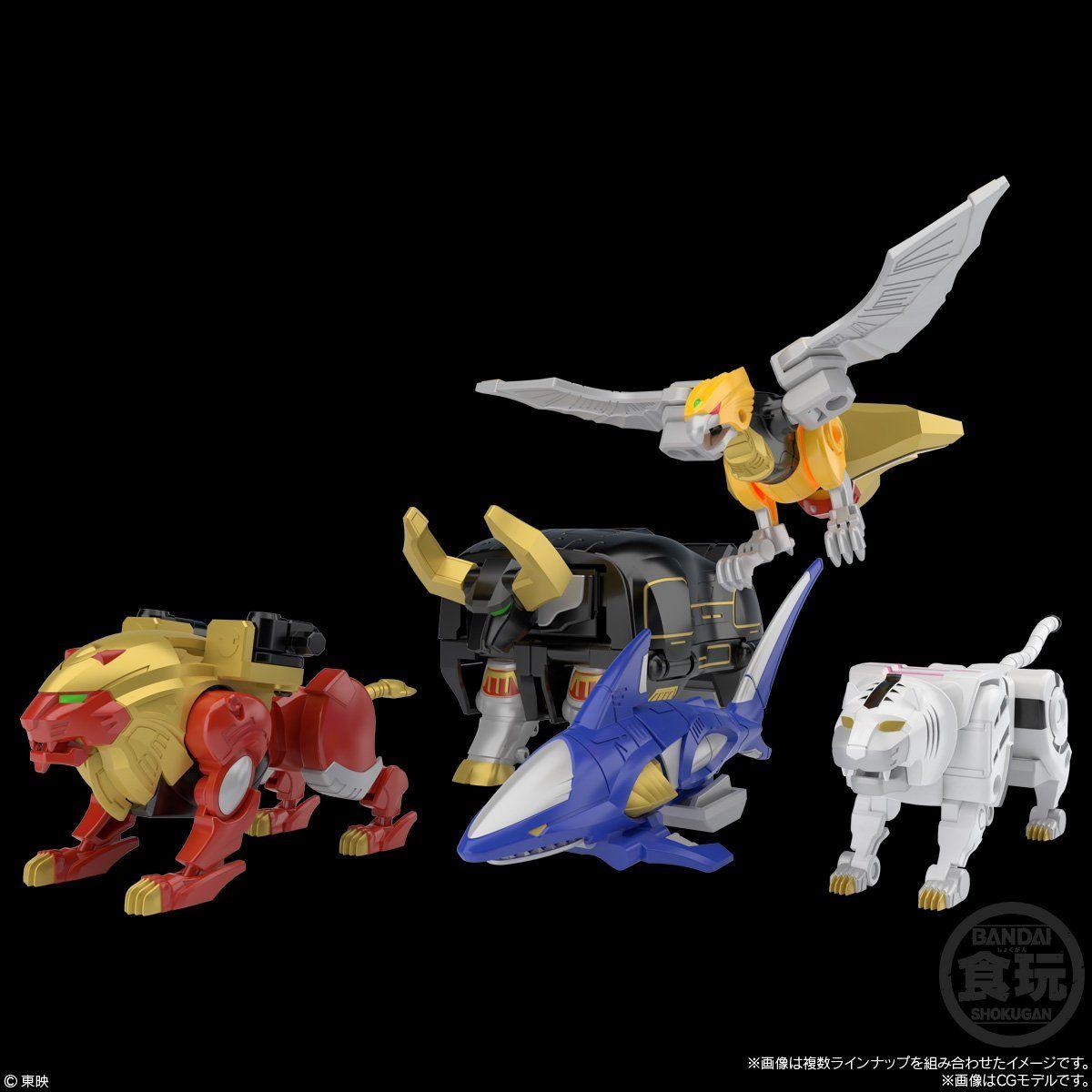 【再販】【食玩】SMP [SHOKUGAN MODELING PROJECT] 『百獣合体 ガオキング』百獣戦隊ガオレンジャー 3個入りBOX-009