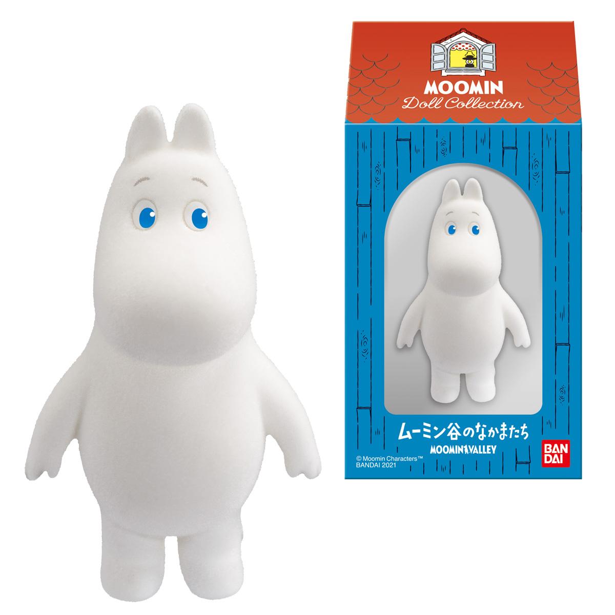 【食玩】ムーミン『MOOMIN Doll Collection』10個入りBOX-001