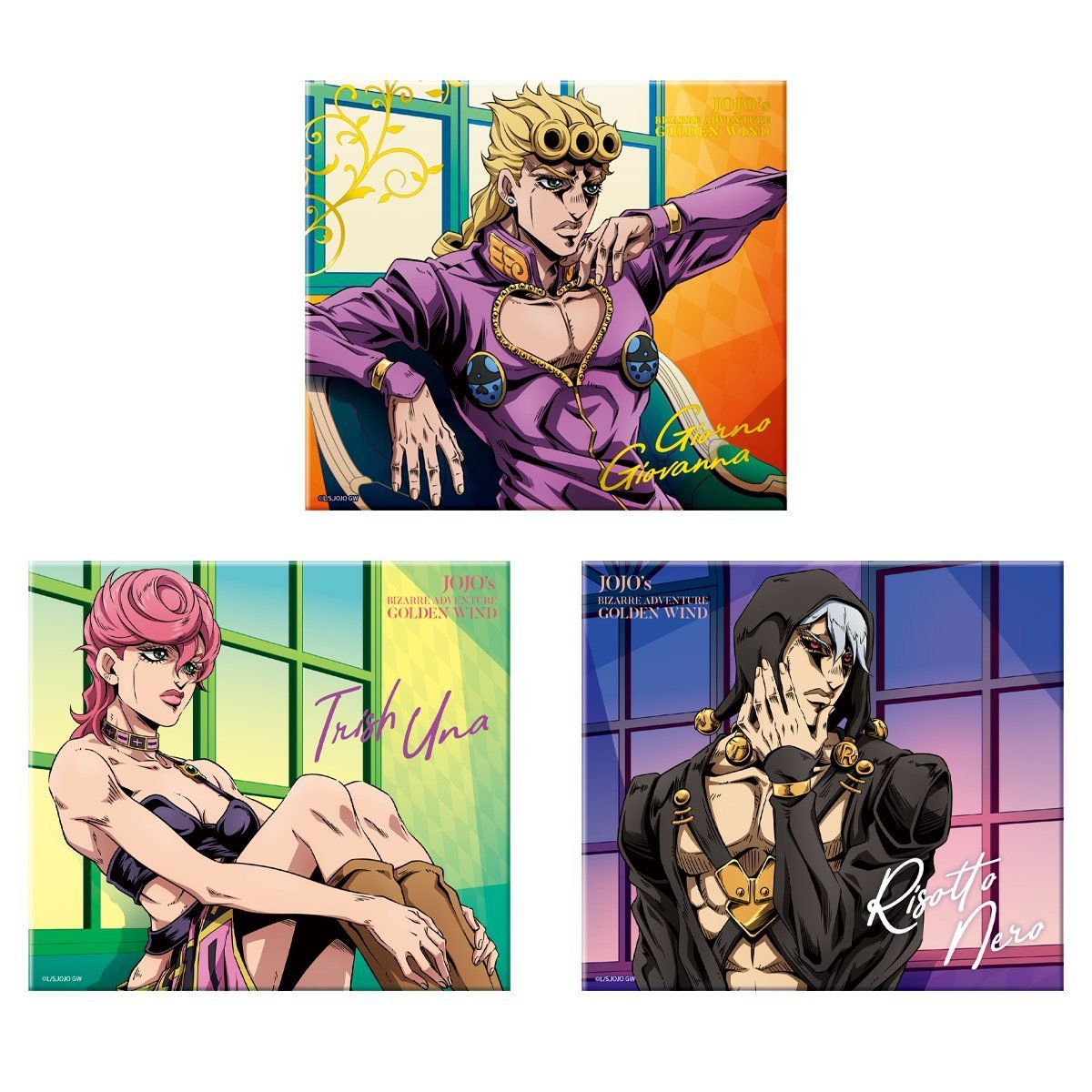 【食玩】ジョジョ『ジョジョの奇妙な冒険 黄金の風 canvas style -キャンバススタイル-』10個入りBOX-001