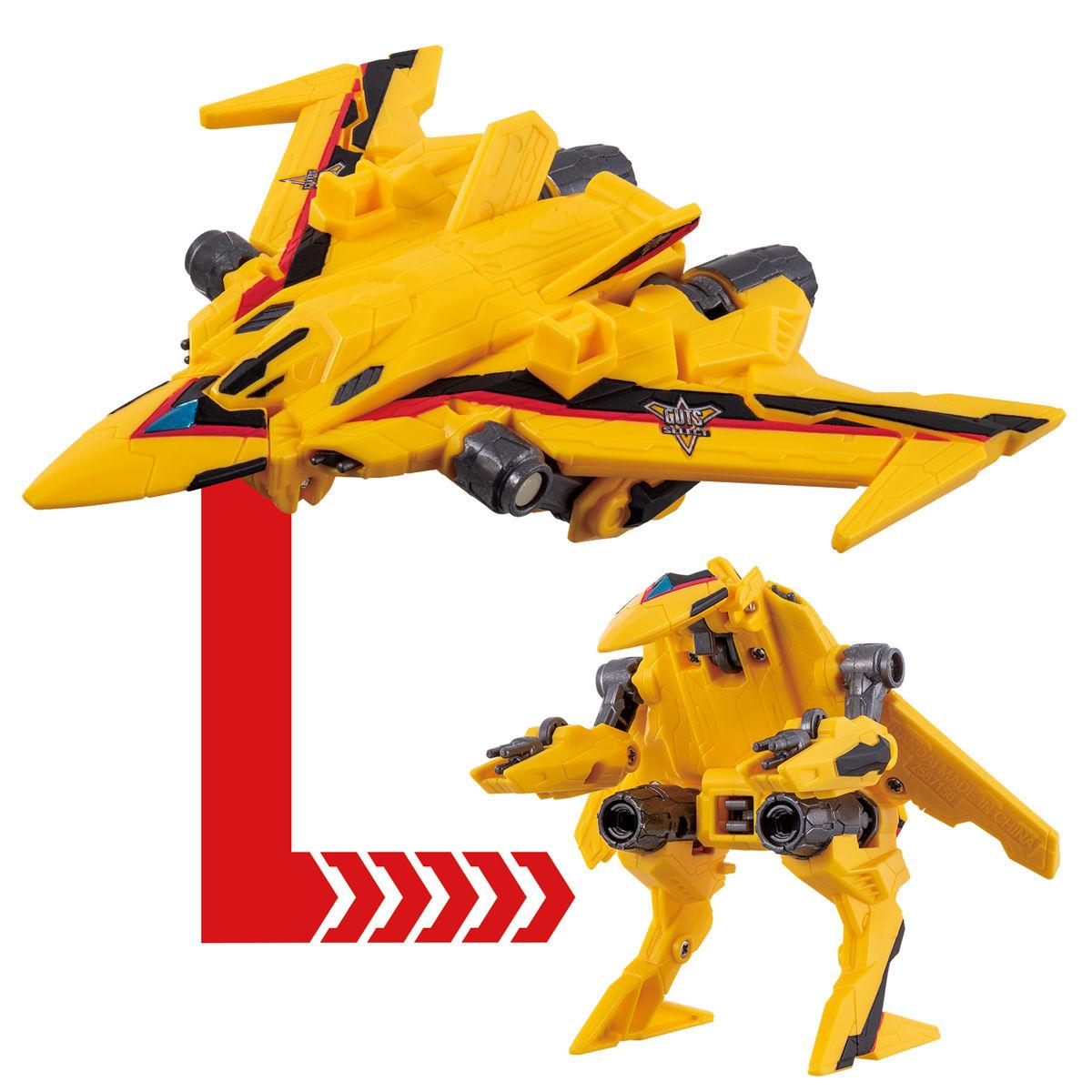 ウルトラマントリガー『DXガッツファルコン』可変可動フィギュア-003