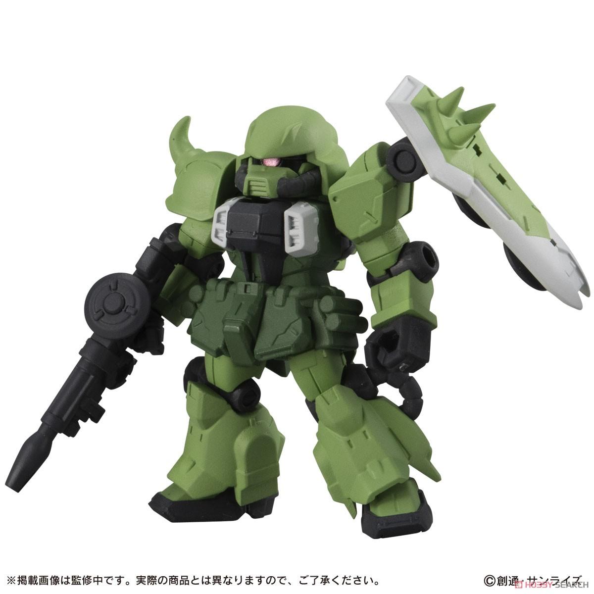 機動戦士ガンダム『MOBILE SUIT ENSEMBLE18』デフォルメ可動フィギュア 10個入りBOX-003
