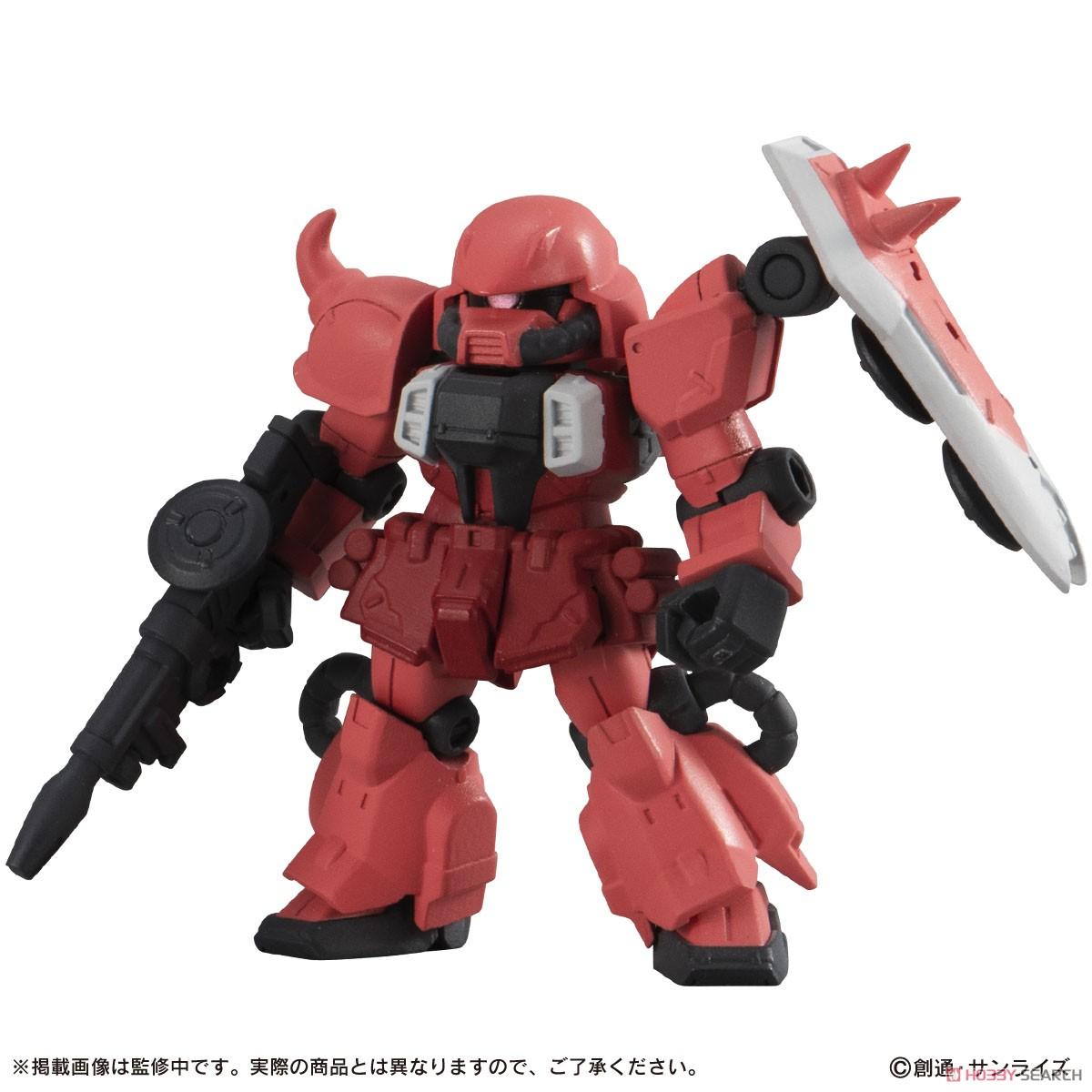 機動戦士ガンダム『MOBILE SUIT ENSEMBLE18』デフォルメ可動フィギュア 10個入りBOX-004