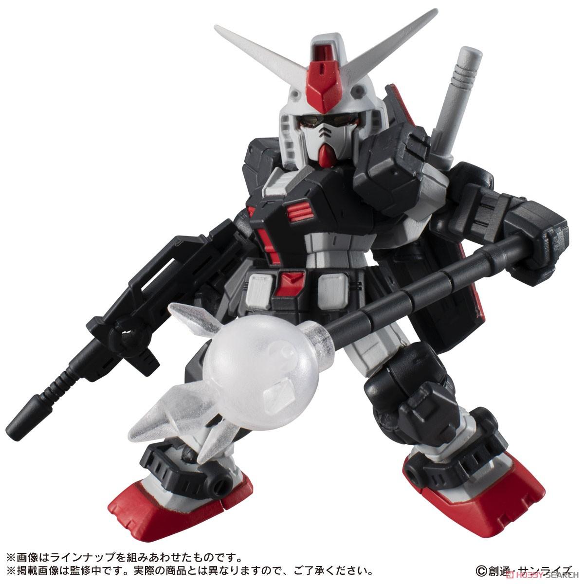 機動戦士ガンダム『MOBILE SUIT ENSEMBLE18』デフォルメ可動フィギュア 10個入りBOX-007
