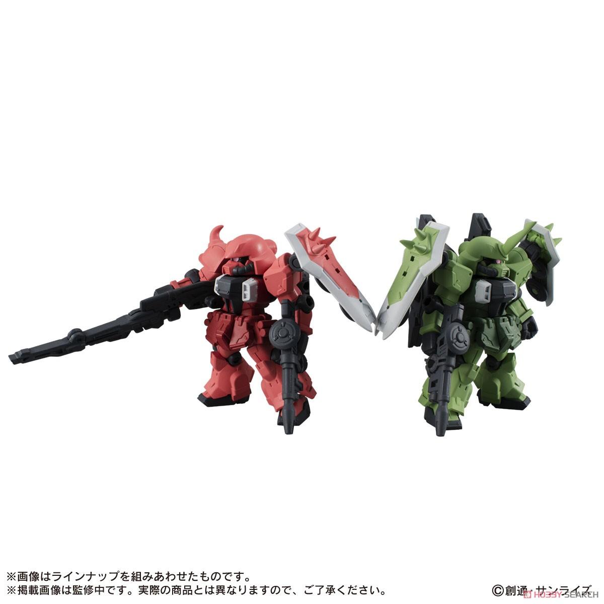 機動戦士ガンダム『MOBILE SUIT ENSEMBLE18』デフォルメ可動フィギュア 10個入りBOX-008