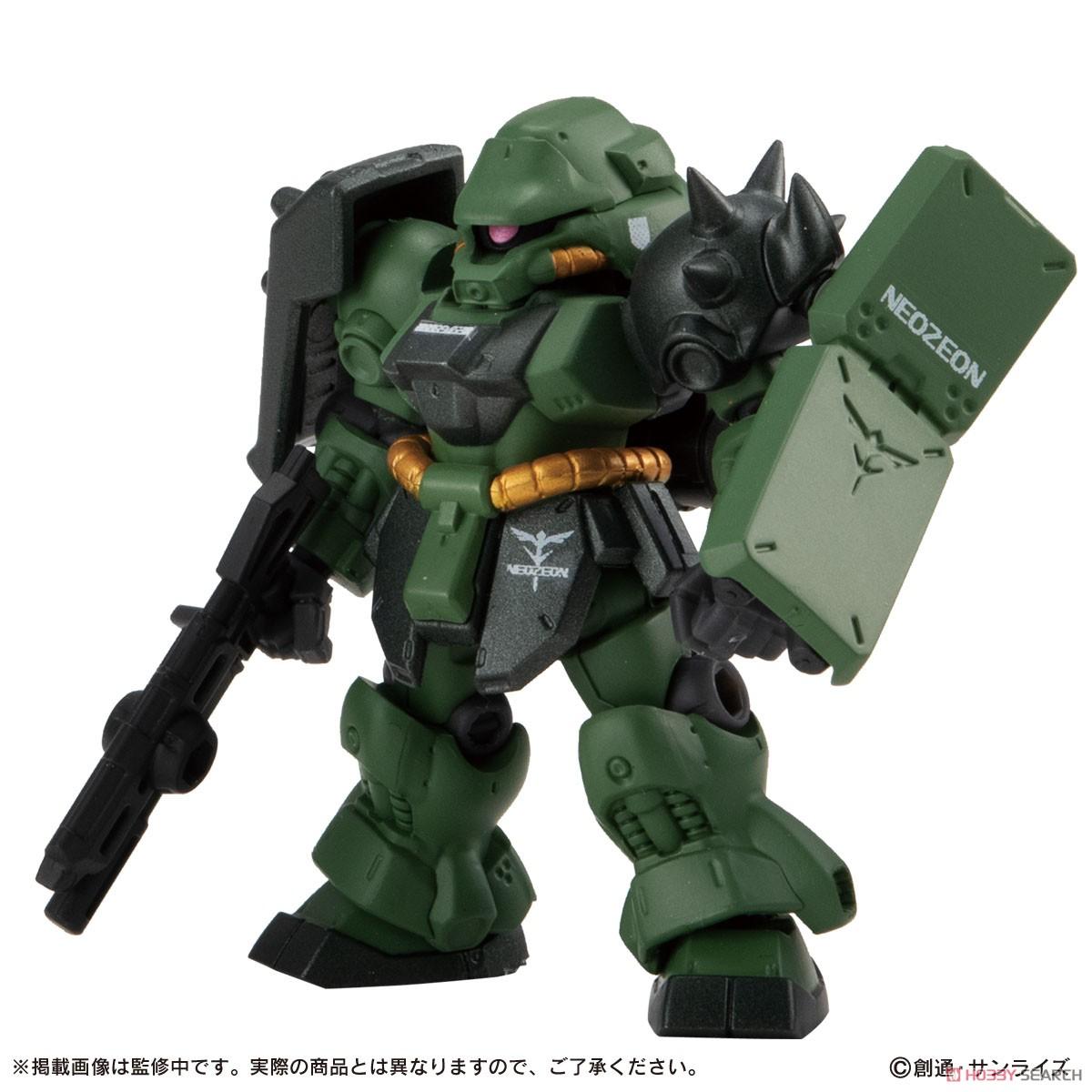 機動戦士ガンダム『MOBILE SUIT ENSEMBLE7.5』デフォルメ可動フィギュア 10個入りBOX-003