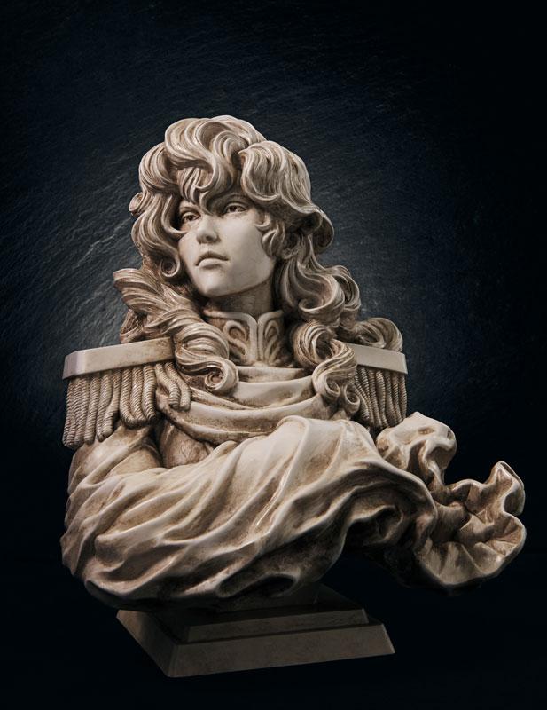 【限定販売】銀河英雄伝説『ラインハルト・フォン・ローエングラム胸像』ポリストーン製フィギュア-001