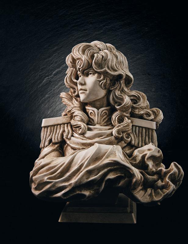 【限定販売】銀河英雄伝説『ラインハルト・フォン・ローエングラム胸像』ポリストーン製フィギュア-002
