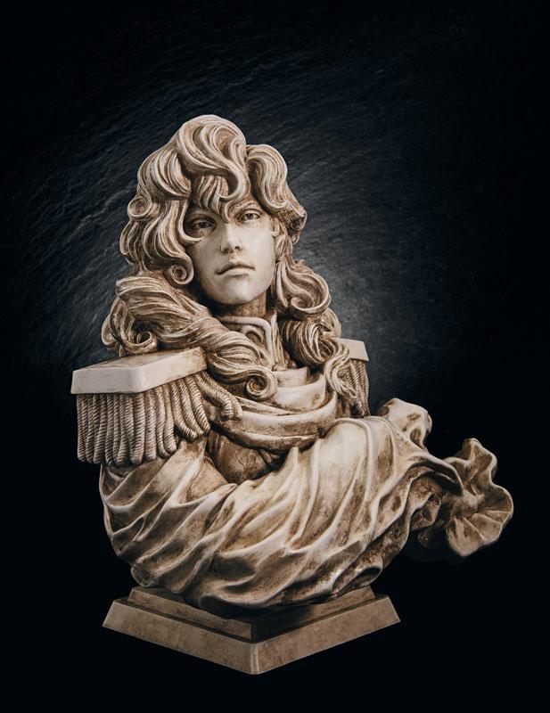 【限定販売】銀河英雄伝説『ラインハルト・フォン・ローエングラム胸像』ポリストーン製フィギュア-004