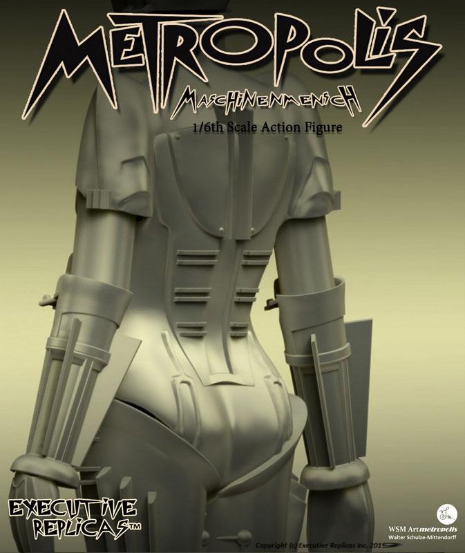 メトロポリス『アンドロイド マリア』1/6 可動フィギュア-006