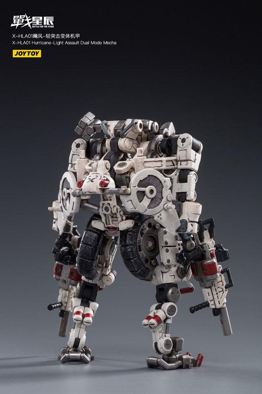 バトル フォー ザ スター『X-HH01 ハリケーン ライト アサルト デュアルモード メカ』1/18 可変可動フィギュア-002