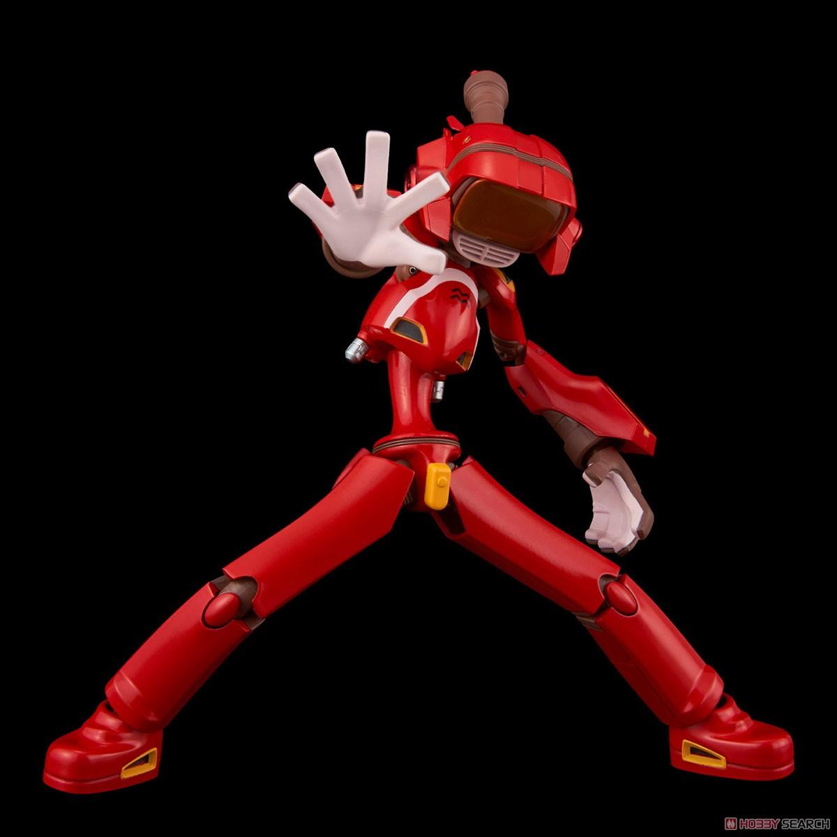 フリクリ『カンチ(赤)』可動フィギュア-003