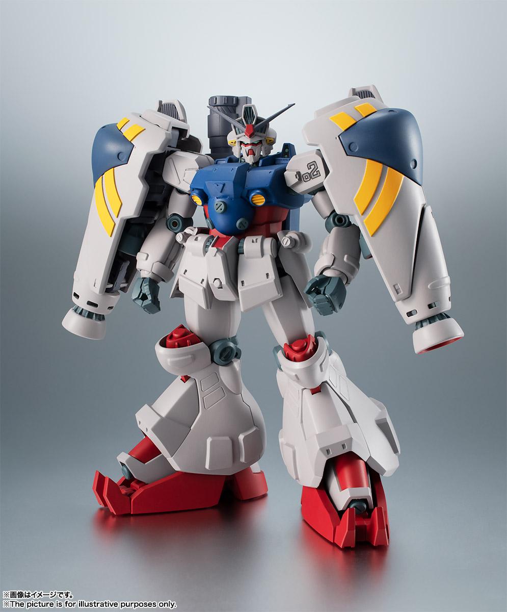 【再販】ROBOT魂〈SIDE MS〉『RX-78GP02A ガンダム試作2号機 ver. A.N.I.M.E.』機動戦士ガンダム0083 可動フィギュア-001