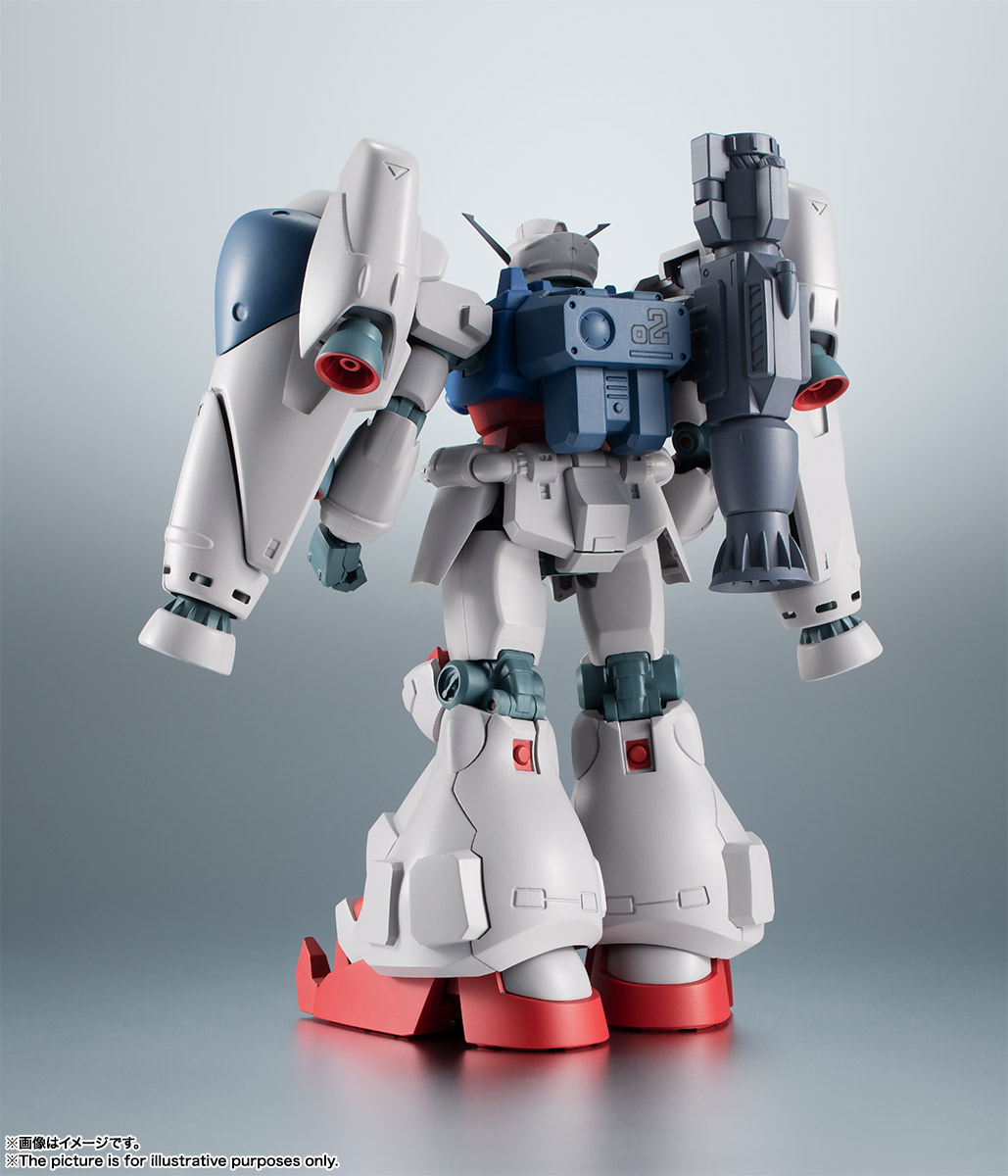 【再販】ROBOT魂〈SIDE MS〉『RX-78GP02A ガンダム試作2号機 ver. A.N.I.M.E.』機動戦士ガンダム0083 可動フィギュア-002