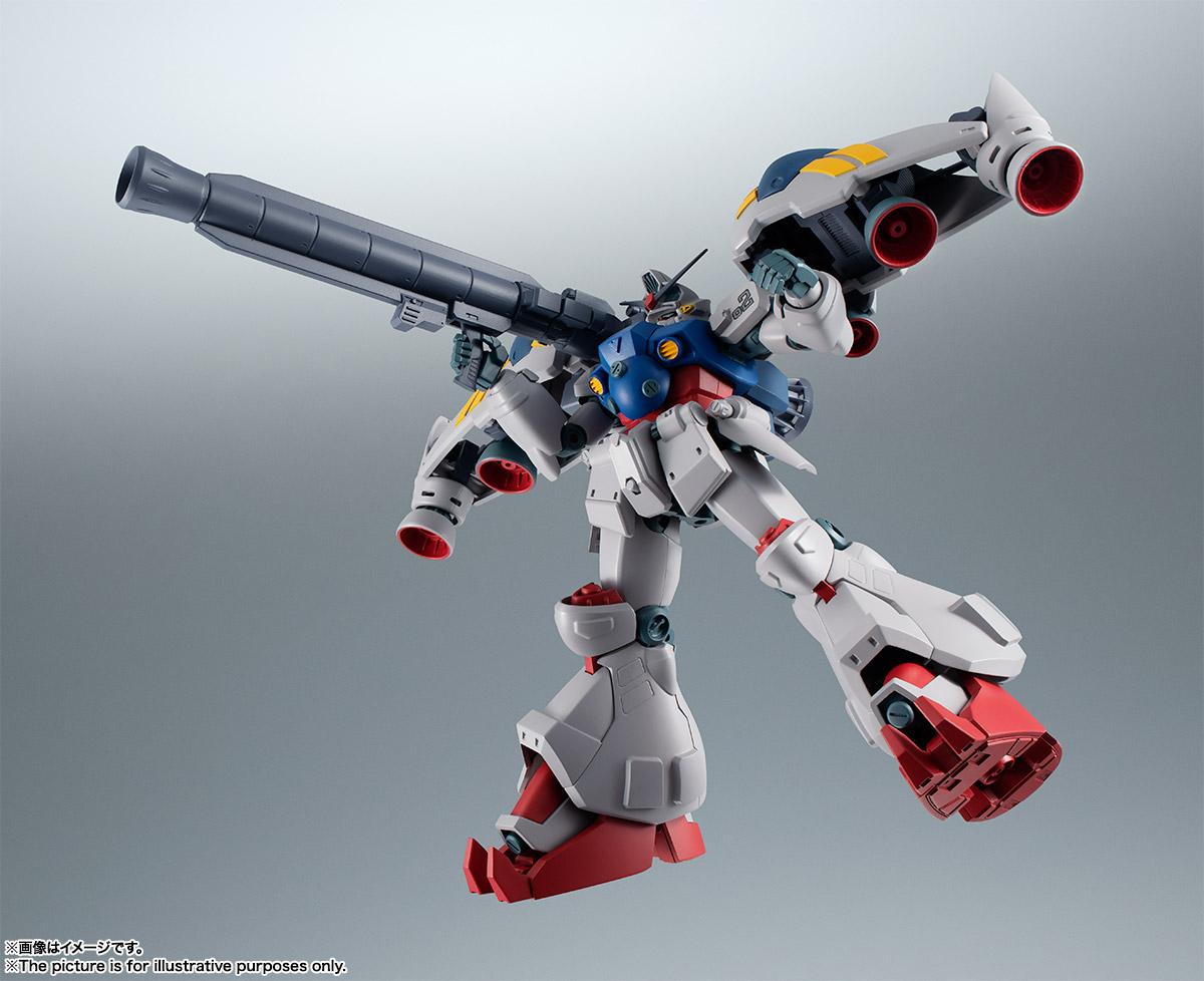 【再販】ROBOT魂〈SIDE MS〉『RX-78GP02A ガンダム試作2号機 ver. A.N.I.M.E.』機動戦士ガンダム0083 可動フィギュア-003